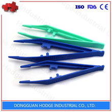 Disposable sterile medical plastic forceps IN STOCK