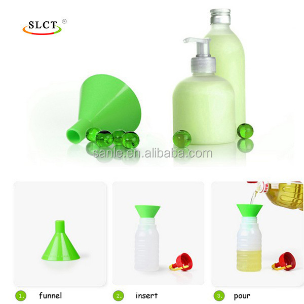 PP multi-function chemical lab kitchen oil filter plastic funnel