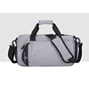 Waterproof Nylon Sports Travel Gym Men Women Duffel Bag With Shoes Compartment