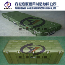 Rotomolding plastic military tool case army box