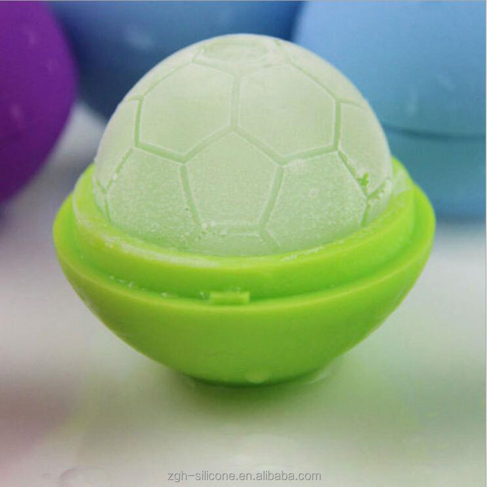 ball Shaped silicone Icy Cools Reusable Ice Cubes For Drinks