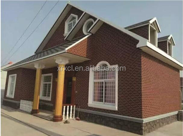 prefab house light steel villa for global market