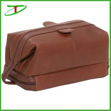 china factory wholesale new arrival 2015 mens leather toiletry bag