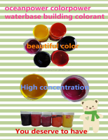 Wall paint colorant / Water base colorant for interior and exterior wall