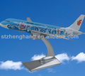 hot trending products aircraft model passenger plane model with unique design