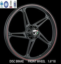 Custom Motorcycle Wheels/Components, chrome/aluminum alloy gear, motorcycle wheel rims