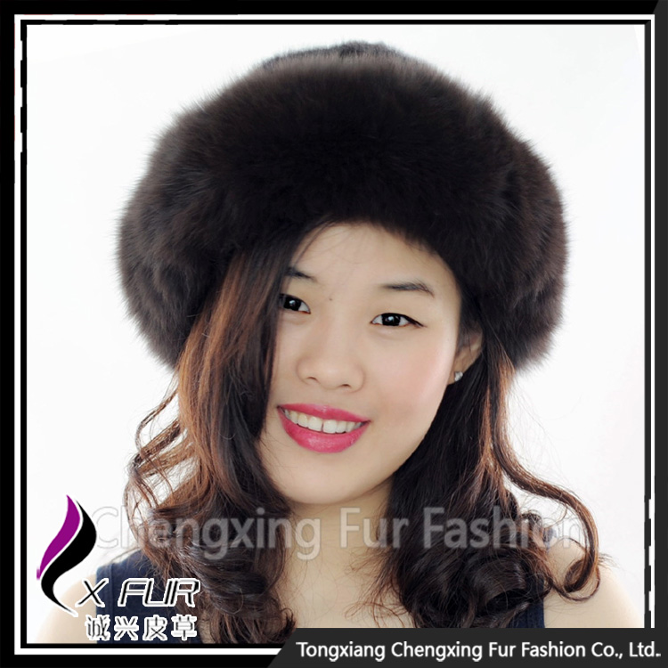 CX-C-156D Hot Sale Cheap Real Mink Fur Hat Cap