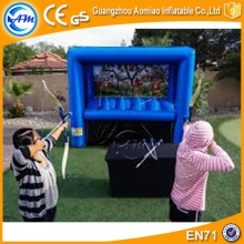 Popular inflatable archery target game interactive adult hoverball sport game