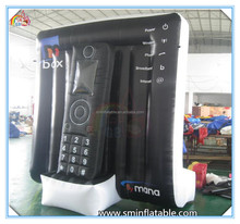 2016 new design giant inflatable mobile phone,inflatable cell phone,inflatable advertising phone model