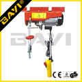 PA series loading capacity 200kg-1200kg electric swing stage hoist/mini electric wire hoist with trolley