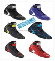 2016 New Fireproof Mortocycle Car Racing F1 Shoes Men