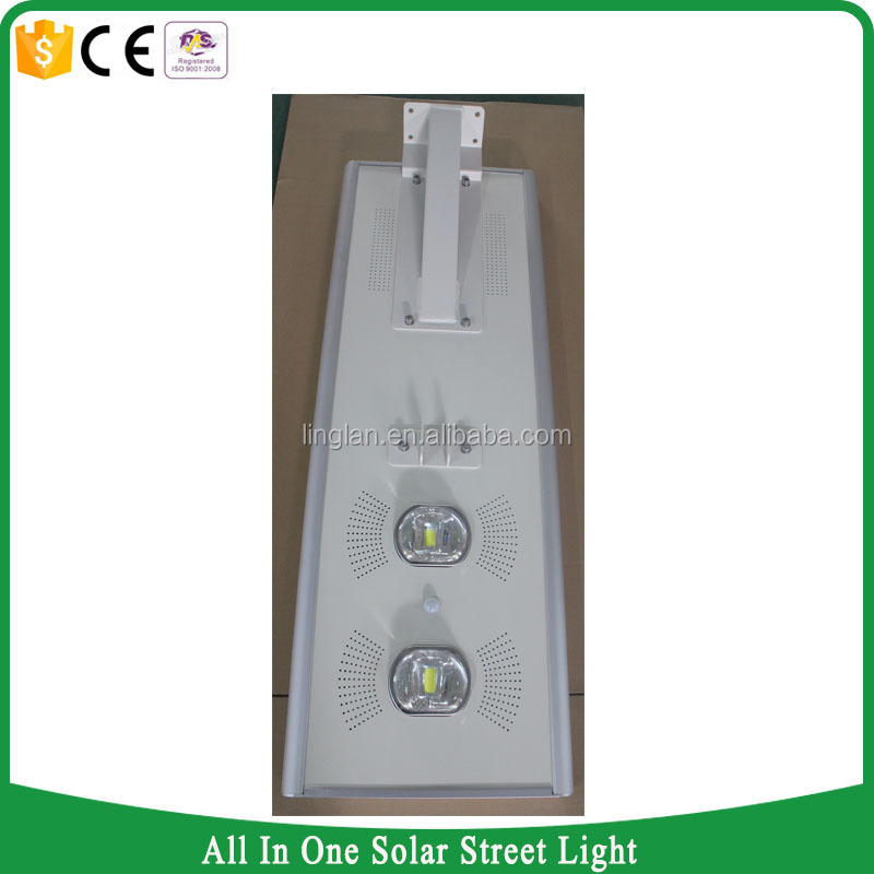 Environment-friendly all in one intergrated solar street light 70w