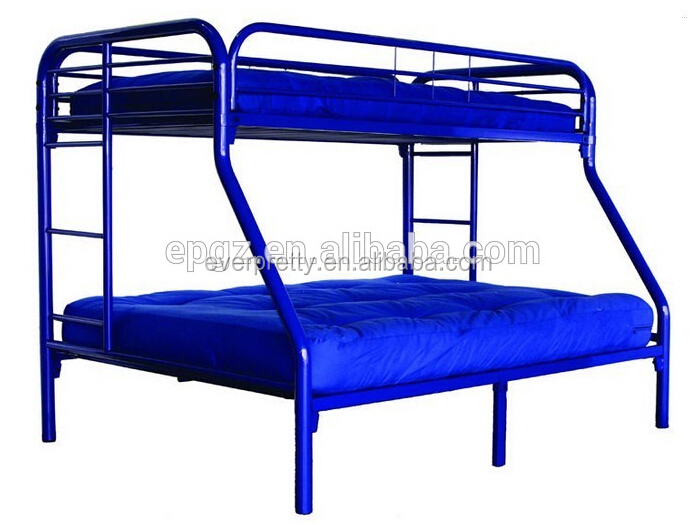 metal double deck bed   metal double deck bed  steel double