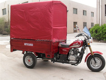 200CC Three Wheel Electric Tricycle for Passenger Petrol CDI