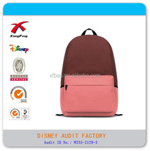 fashion sling bagpack simple polyester bags for students
