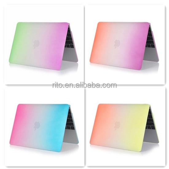 For Mac Air Case, Wholesale Rainbow Hard Case Laptop Cover for Macbook Air