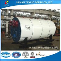 The best price of horizontal style oil/gas fired steam boiler