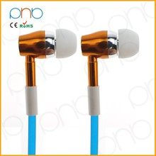 FFS183 Alibaba China Mobile Phone Accessories Hearing Aid Earphone Glowing Earphone Retractable Earphones With Mic