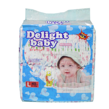 100% cotton factory Price Super Absorption Baby Diaper made in China