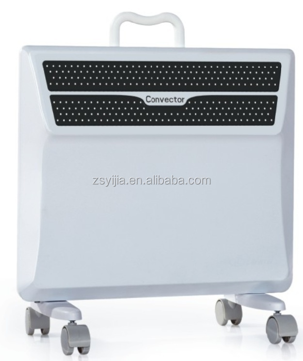 "Convector heater with ""X"" shape heating element for EU market"
