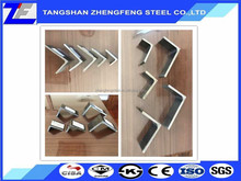 A572Gr50 Construction angle steel 100*100*8 from TANGSHAN ZHENGFENG STEEL
