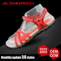 Hot selling beautiful soft sole webbing sandals