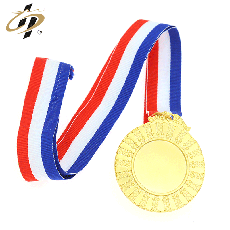 cheap custom 3d gold sliver sports blank medals for bike competition