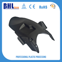 Customized black pmma plastic petg thermoforming cover