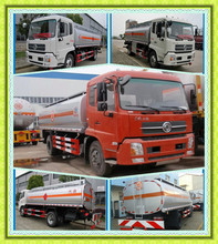 DongFeng tianjin 4X2 Diesel Oil Refuelling Vehicle, Aircraft Fuel Truck, Mobile Gas Refuel Tank truck Capacity 15000 liters