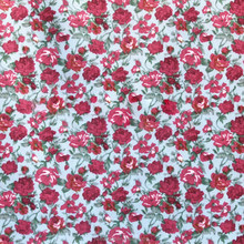 wholesale tropical print small flower printed fabric for clothing lining