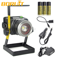 Most Advanced Mini LED Floodlight CREE T6 Zoom Rechargeable LED Flood Light