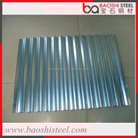 Baoshi Steel leak proof outdoor decorative used curved roof tile sheet metal price