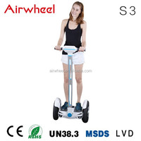 Airwheel S3 electric motor car with CE,RoHS,MSDS certificate SONY battery in changzhou