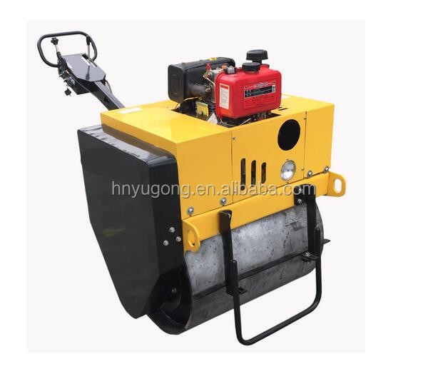 China manufacture 3 ton vibratory road roller Self-propelled vibratory road roller