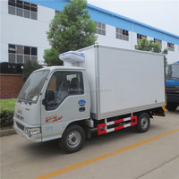 Customized best selling air cooling 2 ton refrigerated box van