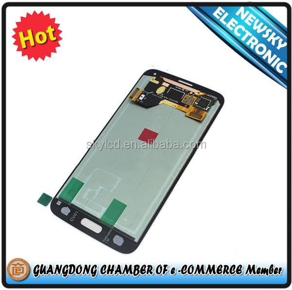 hot selling high quality clone lcd screen for samsung galaxy s5