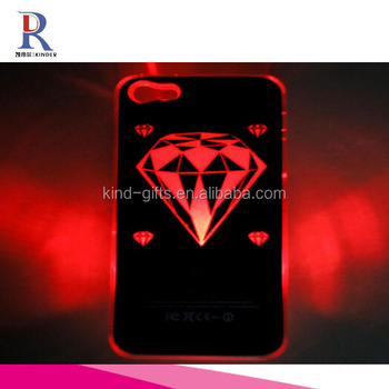 Diamond Sense Flash Light Case Cover LED Color Changed for Apple iPhone5/5S KDLPC029