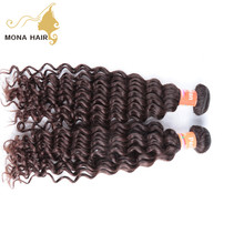 Overnight shipping natural curly wave remy weave hair packs raw peruvian human hair products