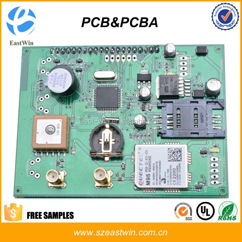 Customized PCB Circuit Board Fabrication & Assembly