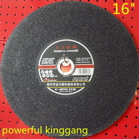 "16"" Powerful Kinggong 400*3.2*32mm grinding/cutting wheel for steel with MPA EN 12413"