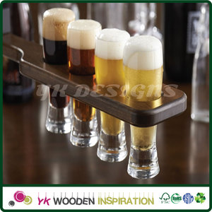 Beer glass display rack in Luxurious Shapes