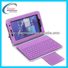 Leather Case Cover for Samsung Galaxy Tab 2 P3100 with Bluetooth Keyboard