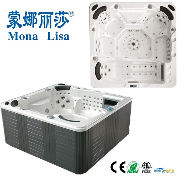 Foot Massage Outdoor Hot Tub/Body Whirlpool SPA (M-3341)