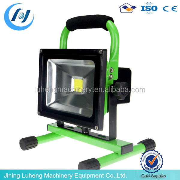 rechargeable floodlights battery powered portable. Black Bedroom Furniture Sets. Home Design Ideas