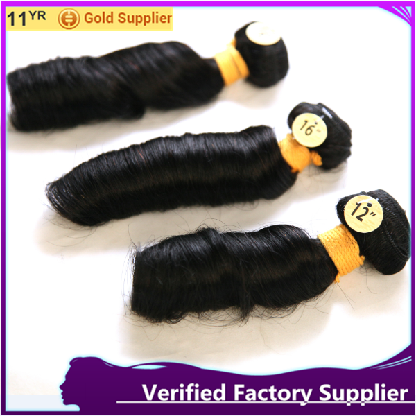 Cheap romance curl indian remy braid hair