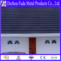 Corrugated Waves Metal Roofing Tile With Stone Chip Coating Color Factory Steel Sand Roof Tile