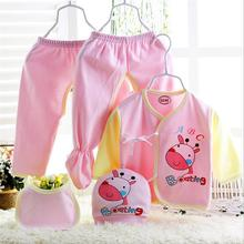 Baby clothes set 2016 fancy design cotton children clothing set good quality casual clothing set 0-6 months