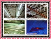 stainless steel or low carbon steel flat grate suspended ceiling