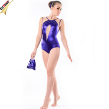 OEM Rhinestone Gymnastic Leotards Professional Performance Adult Gymnastic Leotards