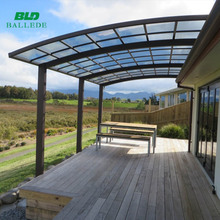 outdoor flat roof sun shade carports